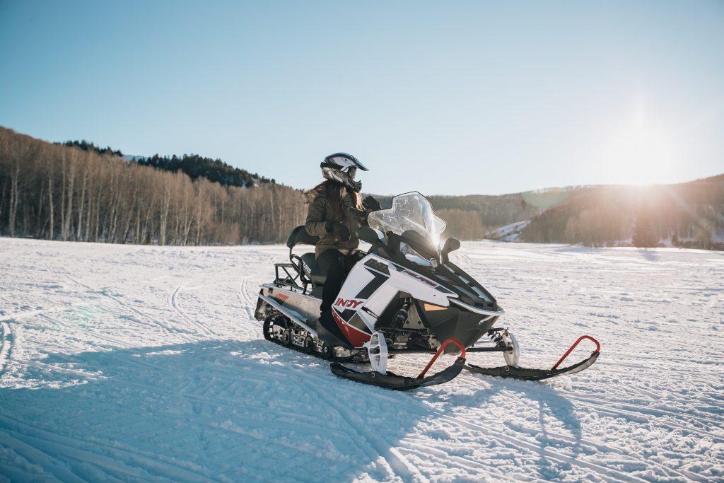 Skier in Jackson WY