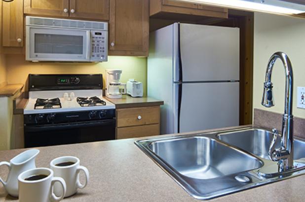 Alpine House Suite Kitchen